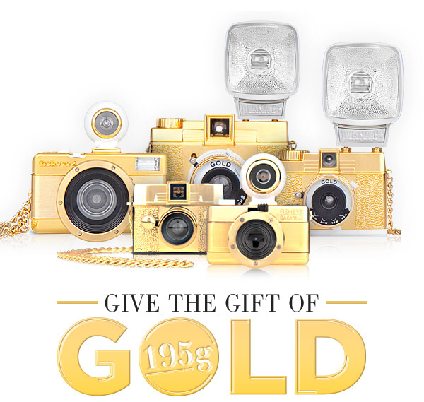 LOMOGRAPHY GOLD SPECIAL EDITION PACK