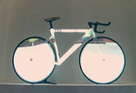 Projection Mapping onFixed Gear Bike