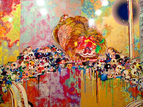 Takashi Murakami Flowers & Skulls