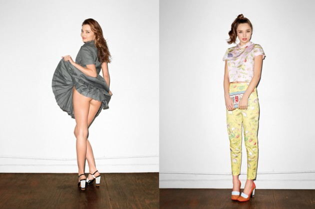 Miranda Kerr x Terry Richardson For Purple