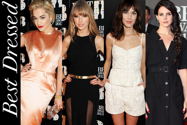 Brit Awards 201 on the red carpet
