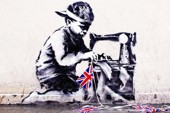 Banksy-Union Jack Child Labour