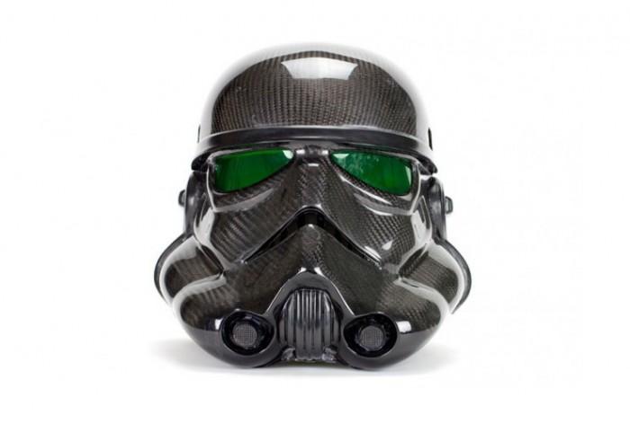 スターウォーズ-ストームルーパーのカーボンヘルメット