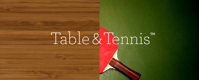 Table & Tennis
