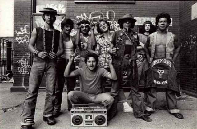1970年代ニューヨークのギャング達を描いたドキュメンタリー映画「RUBBLE KINGS」