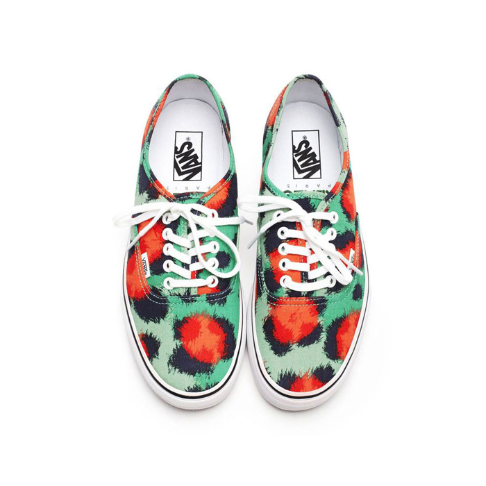 VANS X KENZO 'THE CLOUDED LEOPARD' COLLECTION FOR SPRING 2013