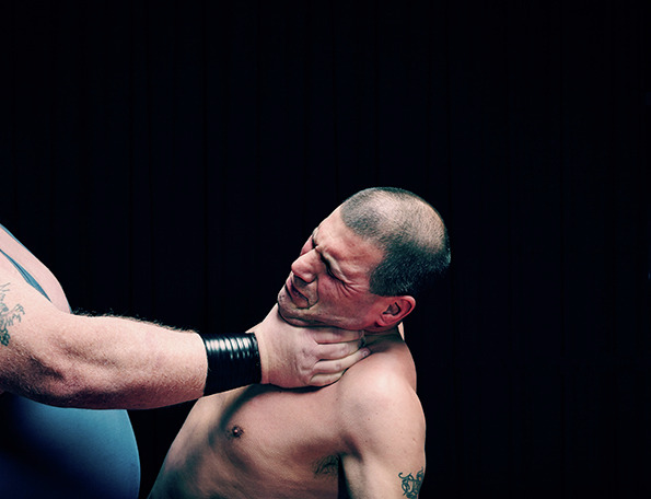 プロレスアート写真-The Virtue of Wrestling