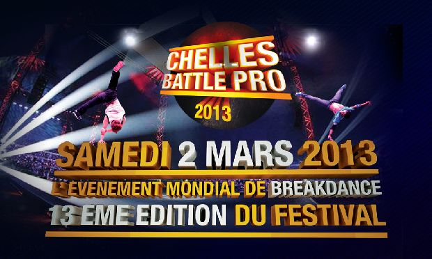 6-Year-Old B-Girl in Chelles Battle Pro2013