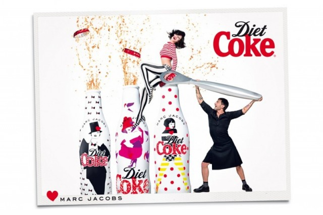 Marc Jacobs Stars in Diet Coke Ad Campaign