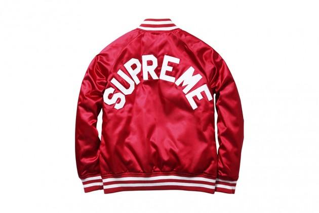 Supreme x Champion Satin Jacket
