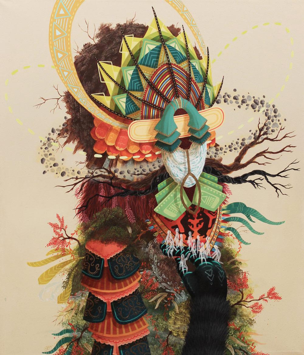 メキシコ人ストリートアーティスト-Curiot