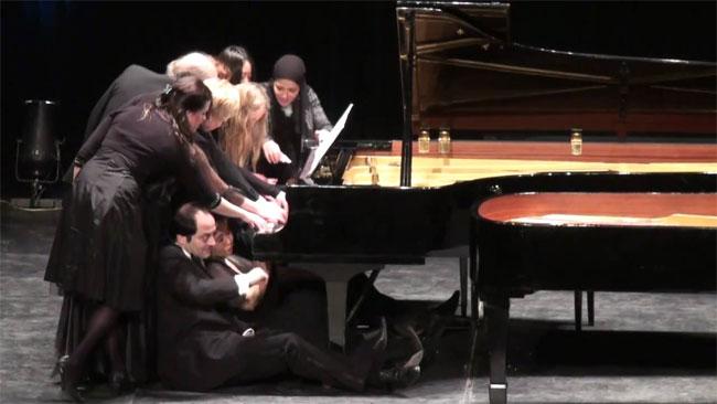 1台のピアノと12人のピアニスト-Piano4te