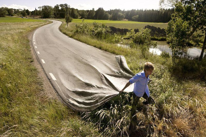 天才デジタルクリエイターErik Johanssonの技術力と想像力が雲よりも高い