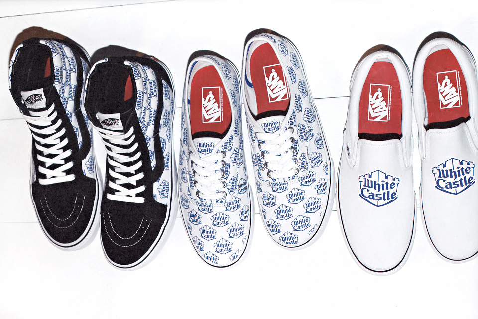 Supreme x Vans x White Castle 2015 Collection