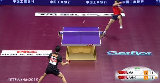 国際卓球連盟が「世紀のラリー」と絶賛した戦い【2015 世界卓球選手権蘇州大会】