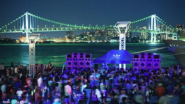 野外フリーパーティー【The Do-Over Tokyo 2015】8月30日に晴海で開催