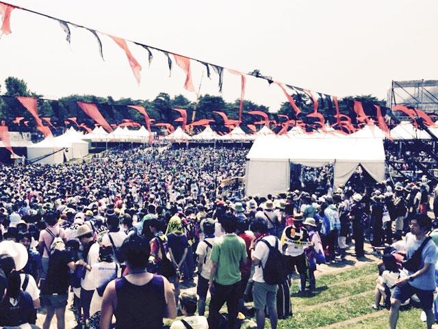 ROCK IN JAPAN FESTIVAL 2015会場内レポート