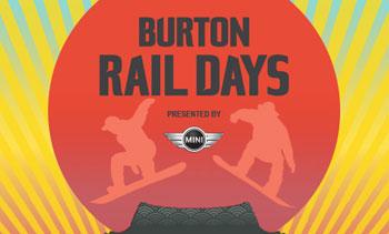 BURTON RAIL DAYS 2015が過去最大規模で開催決定!