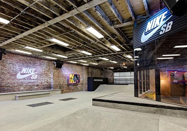寒すぎて街に出られないNYスケーターの為にNIKE SBがインドアスケートパーク『Garage』をオープン