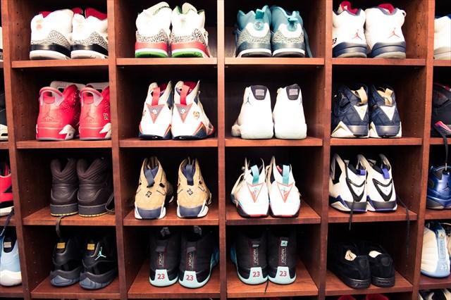 マイアミのボスRick Rossのスニーカーコレクション(Jordan多め)