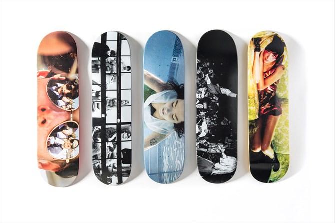 Sonic Youth、Beastie Boys、Bjorkなどスパイク・ジョーンズの代表的MVの1シーンがスケートデッキに-Girl Skateboards