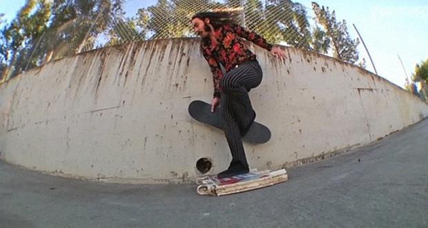 ヒッピープロスケーター、リッチー・ジャクソンのジャッキー・チェン兄貴並みの驚愕スケートフッテージ集‼